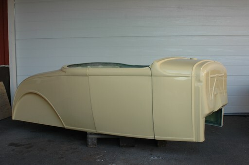 A ford 30/31 roadster glasfiberkaross